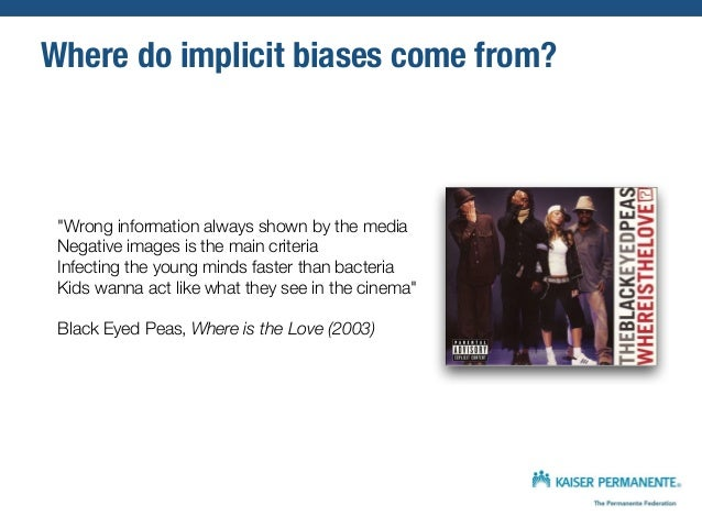 seeing patients unconscious bias in health care