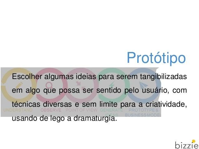 Protótipo Aprender: protótipo vale mais que mil imagens; Solucionar discordâncias: elimina ambiguidades, auxilia na ideaç...