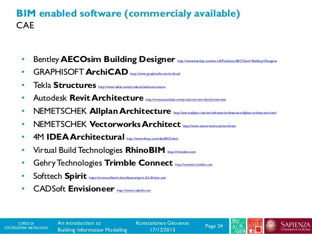CM - An introduction to Building Information Modelling (BIM)