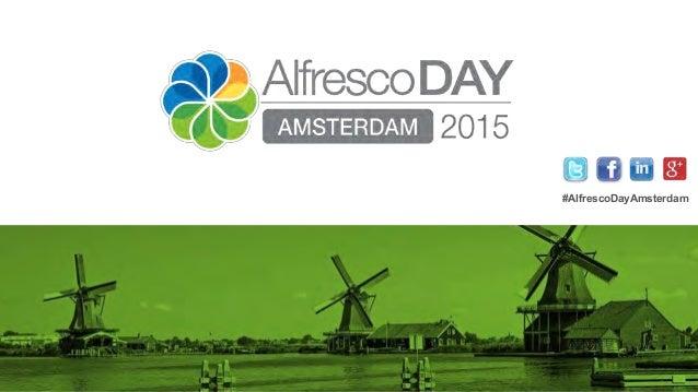 #AlfrescoDayAmsterdam