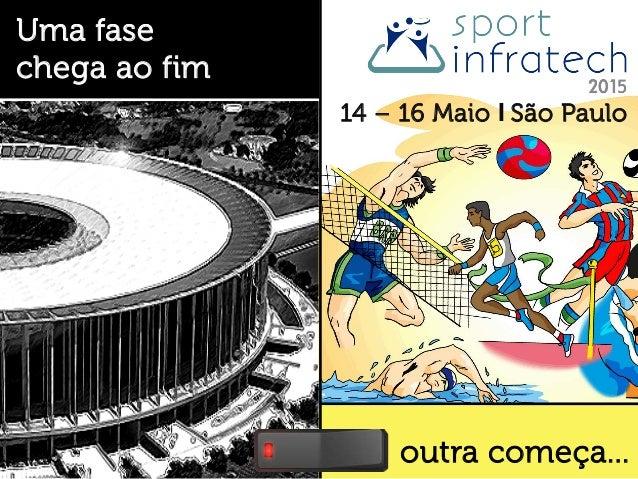 outra começa... Uma fase chega ao fim 14 – 16 Maio I São Paulo