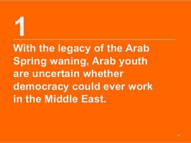 The Study of Democratization and the Arab Spring Essay