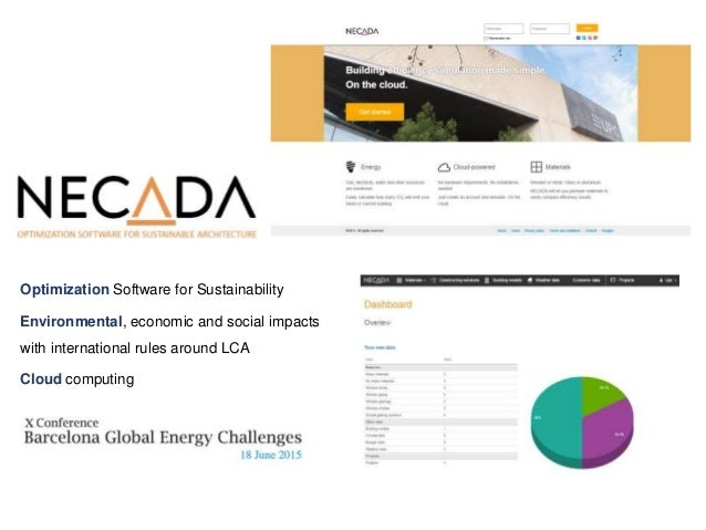 Optimization Software for Sustainability Environmental, economic and social impacts with international rules around LCA Cl...