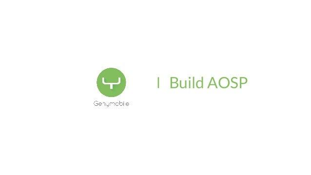 Building aosp