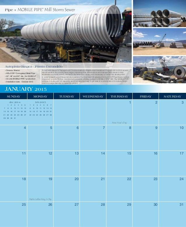2015 Contech Calendar Slide 2