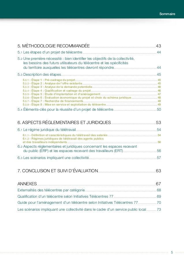 Guide à usage des collectivités locales Télécentres et tiers-lieux 6 L es transformations permises par le numérique impact...