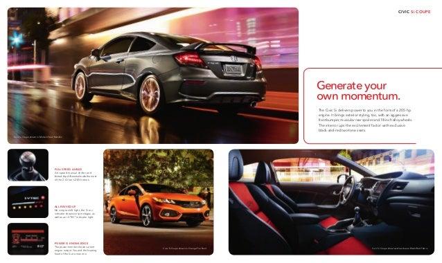 2015 honda civic brochure jackson ms area honda dealer for Honda dealership jackson ms