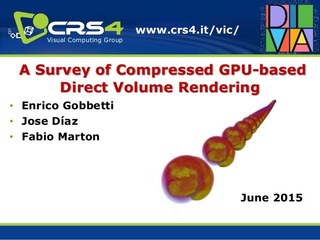 A Survey of Compressed GPU-based Direct Volume Rendering