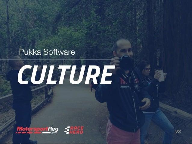 CULTURE Pukka Software V3