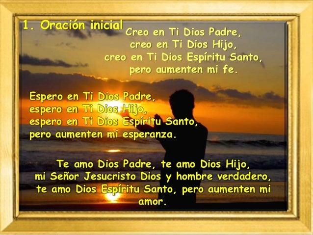 Creo en Ti Dios Padre, creo en Ti Dios Hijo, creo en Ti Dios Espíritu Santo, pero aumenten mi fe. Te amo Dios Padre, te am...