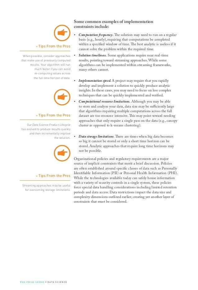 Booz Allen Field Guide to Data Science