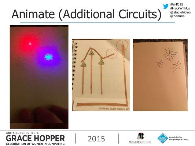 2015 #GHC15 #HackWithUs @staciehibino @bananeAnimate (Additional Circuits)