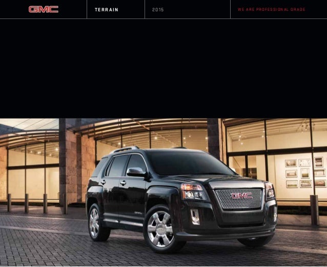 2015 GMC Terrain Omaha Area GMC Dealership