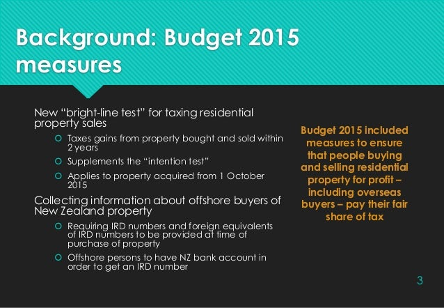 Residential land withholding tax Slide 3