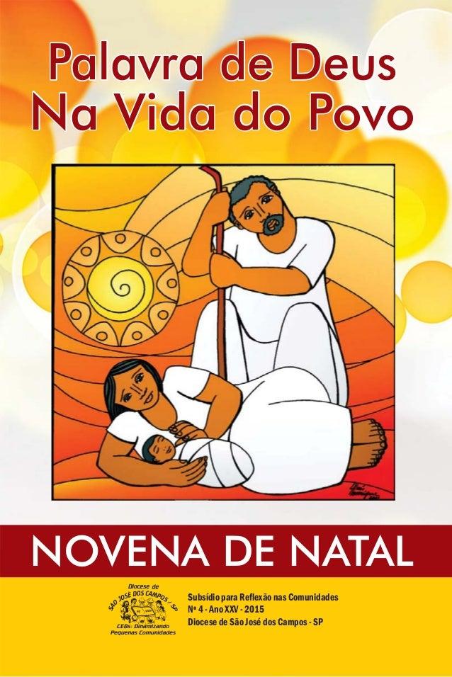 Subsídio para Reflexão nas Comunidades Nº 4 - Ano V - 2015XX Diocese de São José dos Campos - SP Palavra de DeusPalavra de...