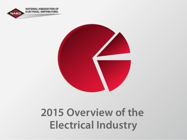 2015 Overview of the Electrical Industry NATIONAL ASSOCIATION OF ELECTRICAL DISTRIBUTORS