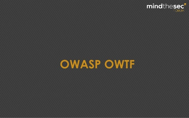 OWASP OWTF