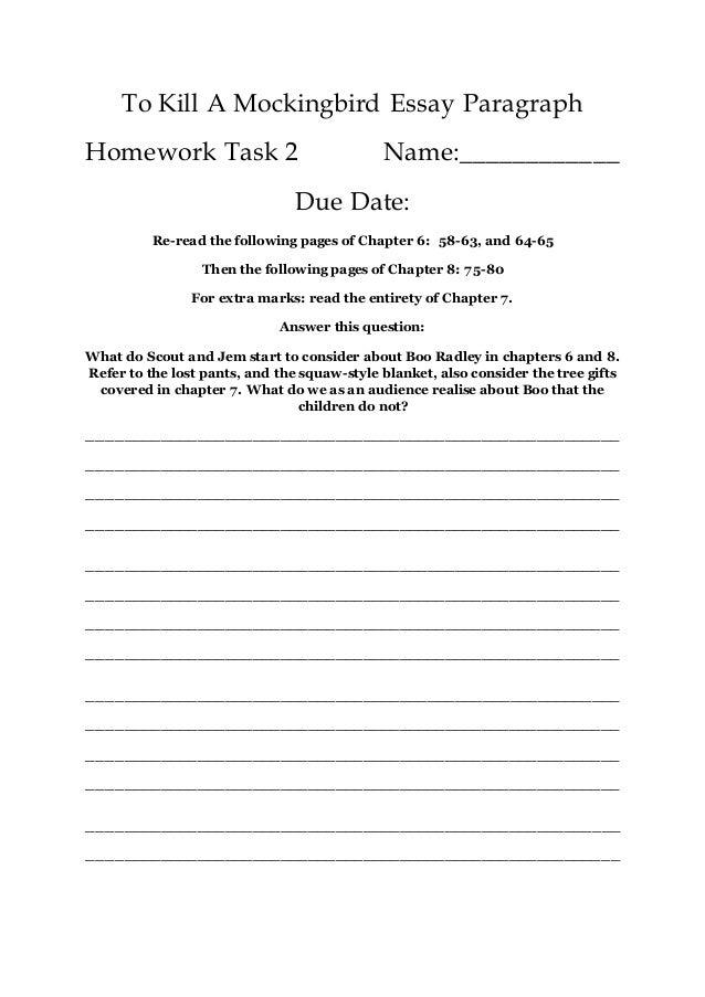 personal response essay format