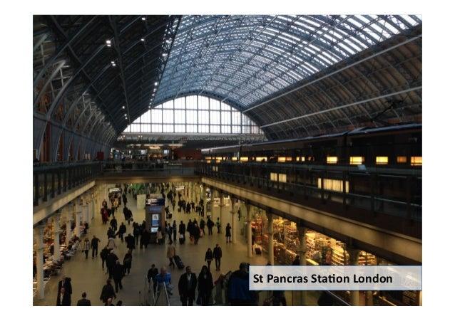Rail station passenger congestion: Thinking outside the station Slide 3