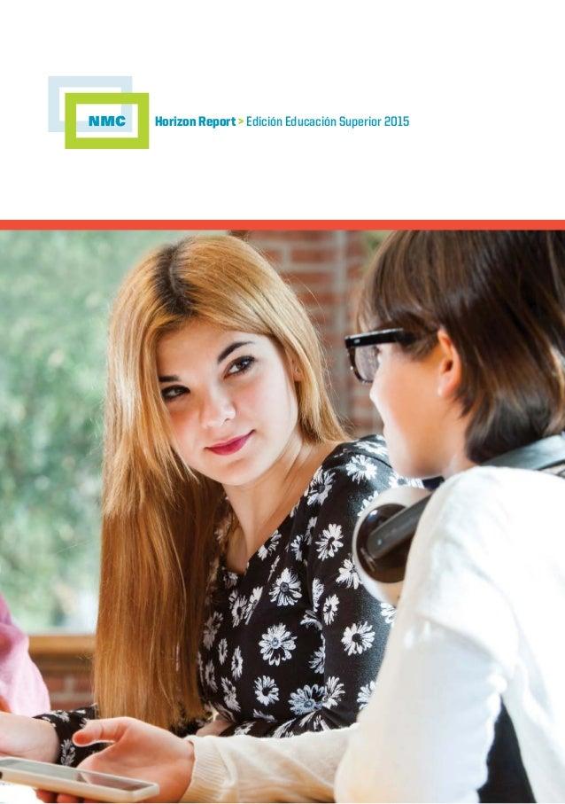 Horizon Report > Edición Educación Superior 2015