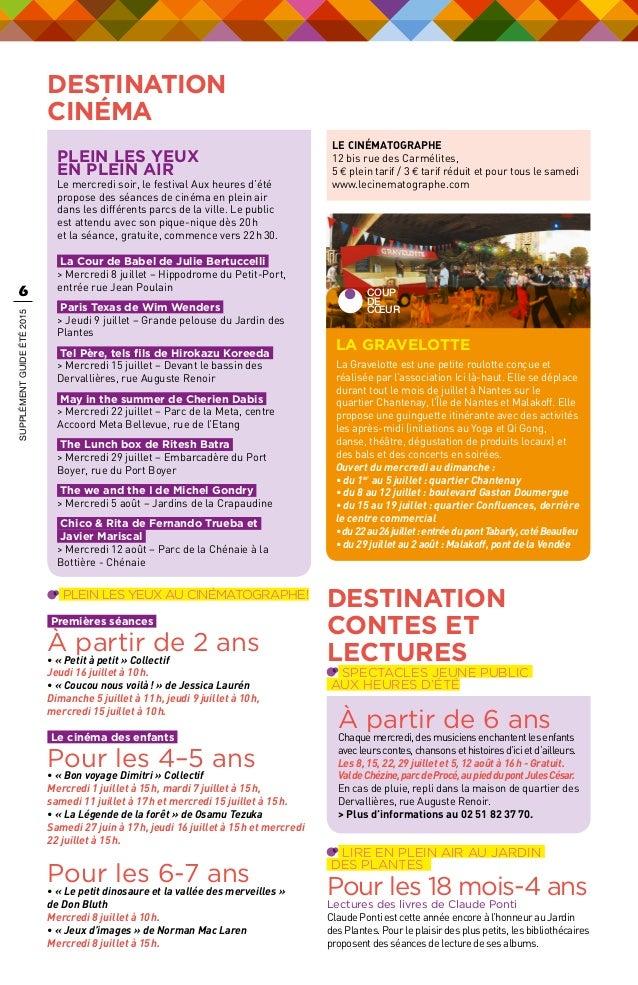 Best Cinema Jardin Des Plantes Nantes Images - House Design ...