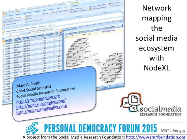 A project from the Social Media Research Foundation: http://www.smrfoundation.org Network mapping the social media ecosyst...