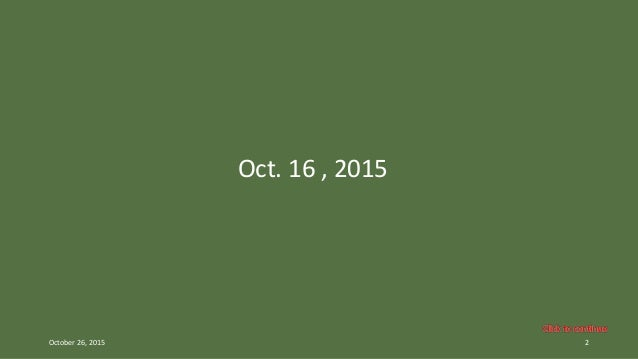 2015 - Pictures of the month_OCTOBER - Oct 16 - Oct 23 Slide 2