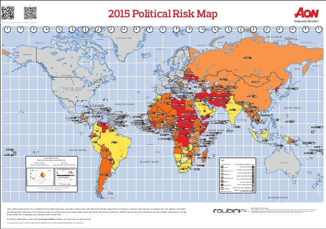 Political Map Of Usa 2015.2015 Political Risk Map