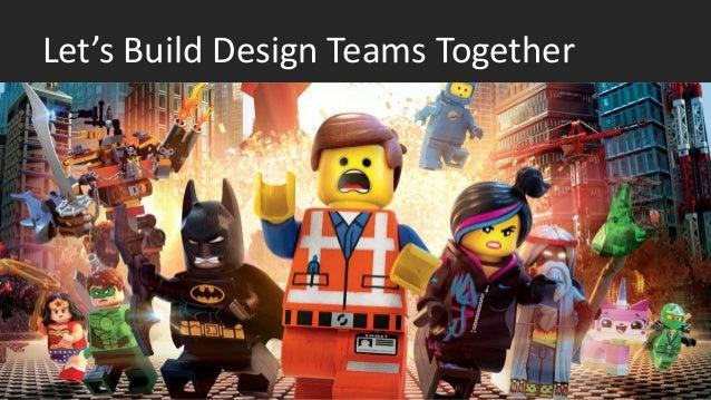 Let's Build Design Teams Together