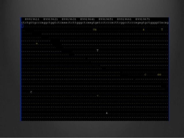 Variant detection after mapping http://www.kenkraaijeveld.nl/genomics/bioinformatics/ Sequence Map Call variants Interpret...