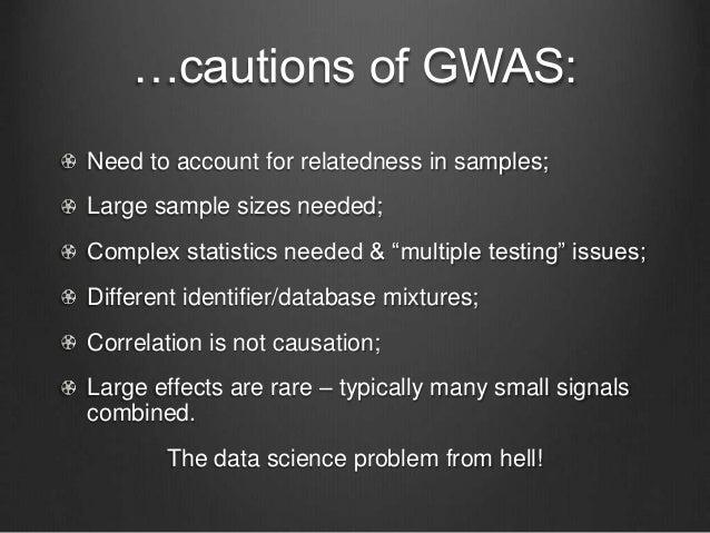"Short term Lots more data! ""Millions to billions of human genomes"" coming. Individual data – est 300,000 human genomes seq..."