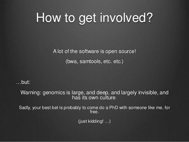 How can you sequence your own genome? Most genetic testing services (23andme, etc.) don't actually sequence your 6 billion...