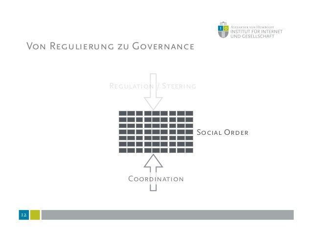 """Governance: Anerkannt uneindeutiger Begriff """"das Gesamt aller nebeneinander bestehenden Formen der kollektiven Regelung ge..."""
