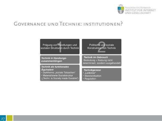 """28 Technik als integraler Bestandteil von Gesellschaft * Technik verkörpert Werte und Normen, nicht die """"beste"""" Lösung * """"..."""