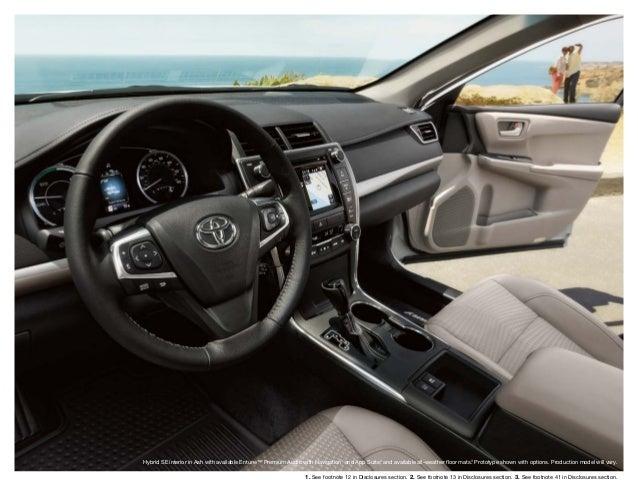 2015 Toyota Camry Brochure Haley Toyota Roanoke
