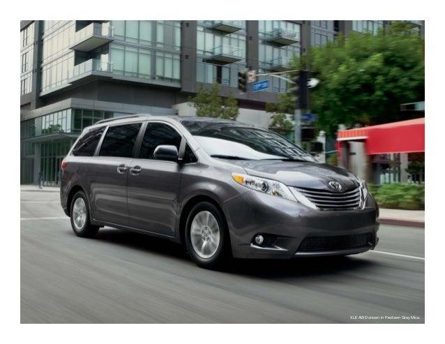 Haley Toyota Roanoke >> 2015 Toyota Sienna Brochure - Haley Toyota Roanoke