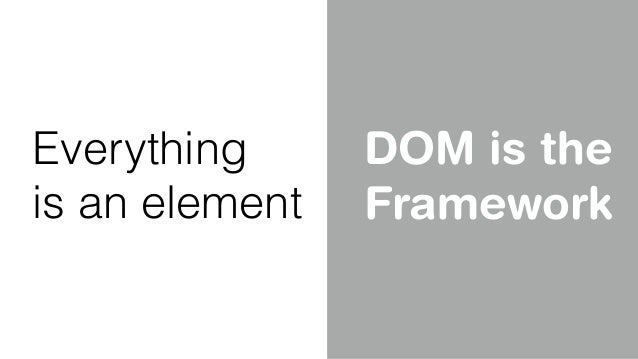 <my-component></my-component> Custom Elements