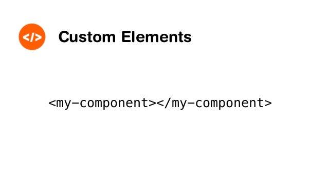 var proto = Object.create(HTMLElement.prototype); proto.createdCallback = function() { var div = document.createElement('d...