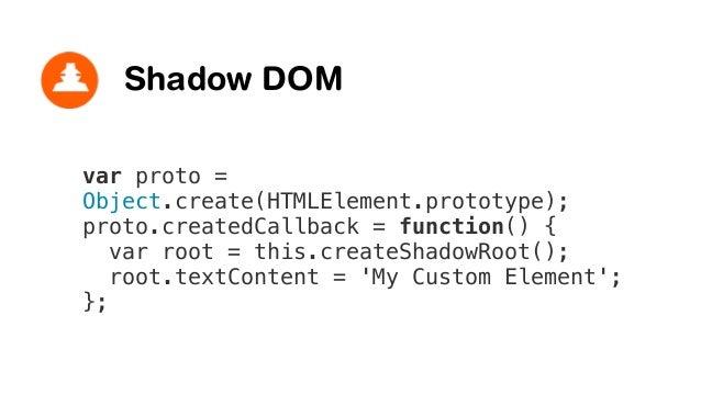 Shadow DOM Document (light DOM) <my-component> (shadow host) Shadow border <div> (shadow DOM) Content border <div> (light ...