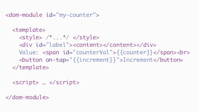 Web Components in Java apps?