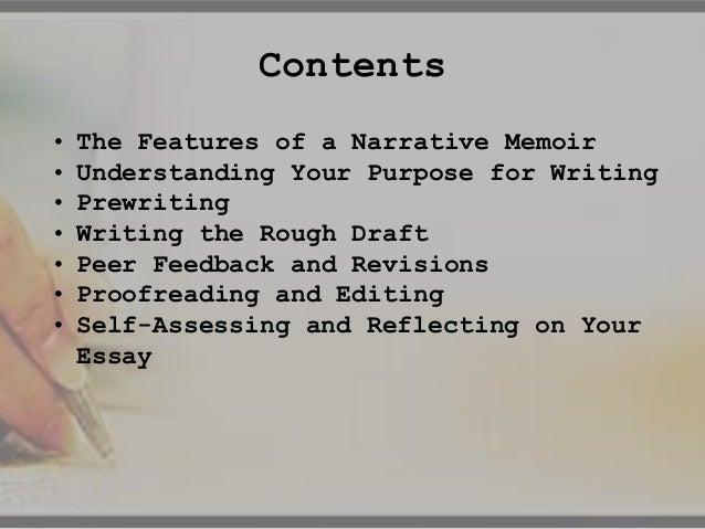 writing the narrative memoir writing the narrative memoir 2