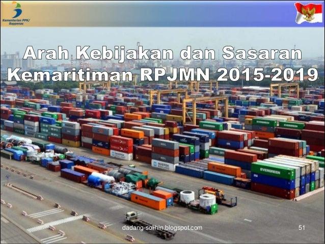 koordinasi lintas sektoral dalam mendukung pembangunan kemaritiman