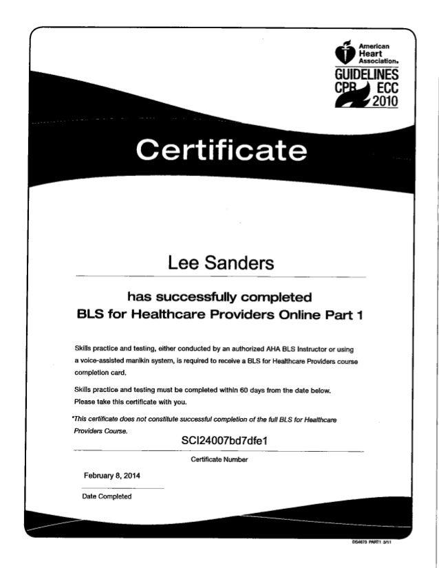 Aha Healthcare Provider Bls Certification Choice Image Creative