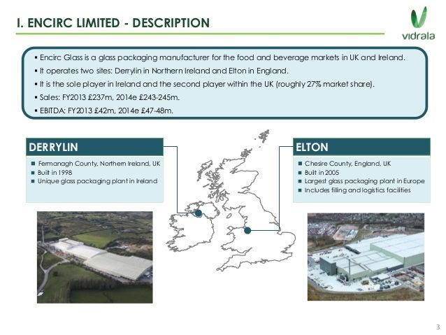 Encirc Glass Manufacturer Northern Ireland