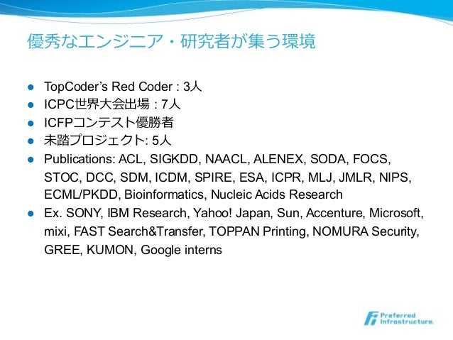 ! TopCoder's Red Coder : 3 ! ICPC : 7 ! ICFP ! : 5 ! Publications: ACL, SIGKDD, NAACL, ALENEX, SODA, FOCS, STOC, DCC,...