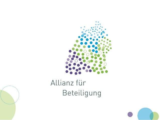 www.allianz-fuer-beteiligung.de 228.01.2015 Aktuelle Entwicklungen und Beispiele der Bürgerbeteiligung in Baden-Württember...