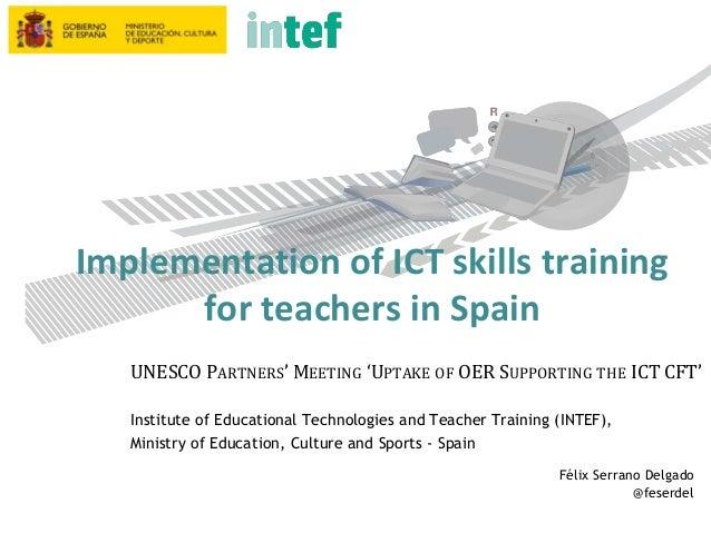 Instituto Nacional de Tecnologías Educativas y de Formación del Profesorado www.ite.educacion.es Torrelaguna, 58. 28027 Ma...