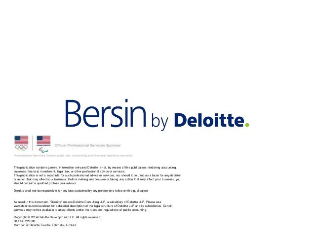 This publication contains general information only and Deloitte is not, by means of this publication, rendering accounting...
