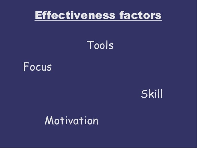 personal and team effectiveness Leading self & team effectiveness gain the insights of personal and team strengths and how to release highest effectiveness the program enables managers to work.