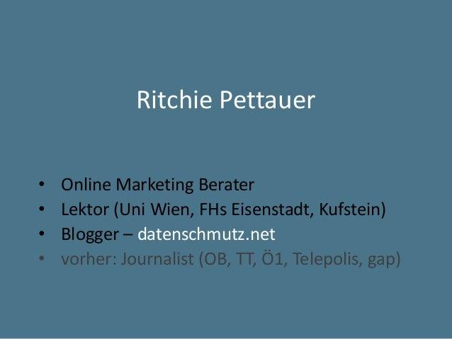 Social Media für Unternehmen (Kaufmannschaft Kufstein, 3.2. 2015) Slide 2